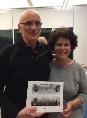 Denyse Lemay et Christian Barrette + livre 100e